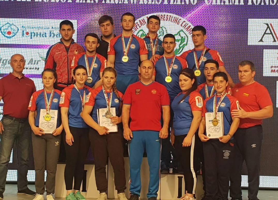 Армрестлеры из Южной Осетии завоевали четыре награды на Чемпионате Европы