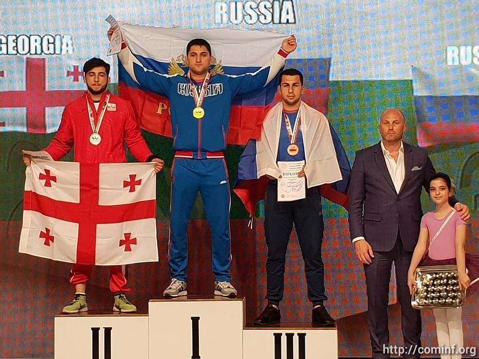 Армрестлер из Южной Осетии Сослан Гассиев в четвертый раз стал чемпионом Европы