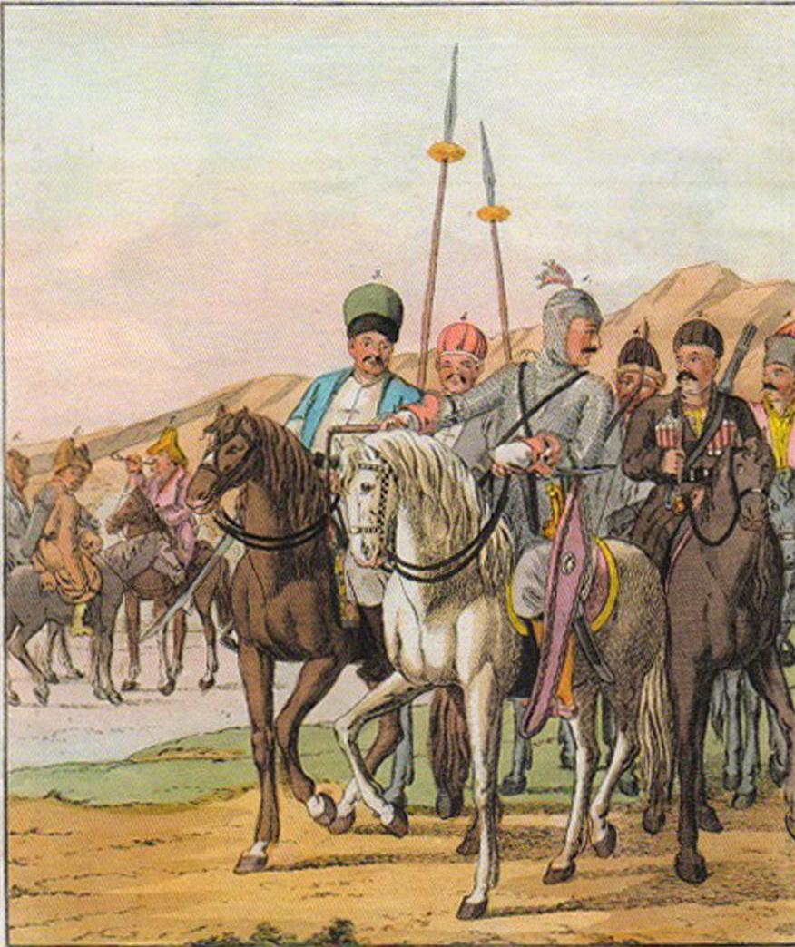 1805. Черкесский князь