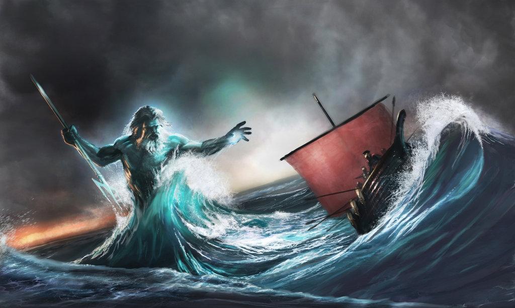 Морское божество Кодес