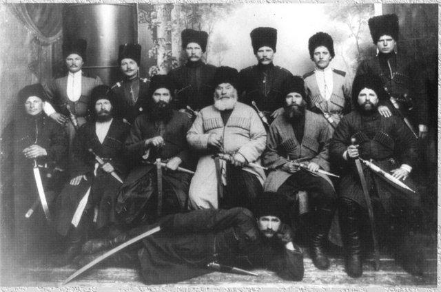 ТЕРСКИЕ КАЗАКИ И ЧЕЧЕНЦЫ