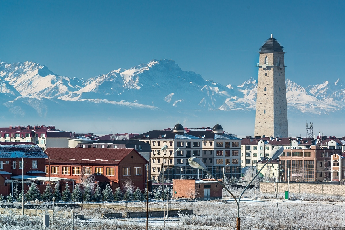 Башня Согласия - самая высокая смотровая башня на Северном Кавказе