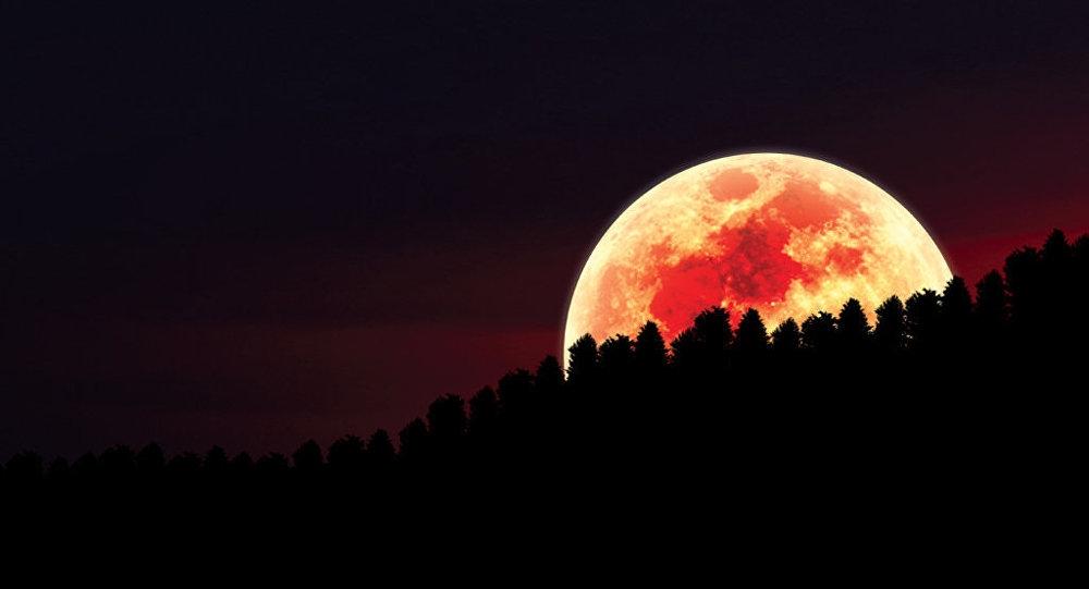 Кровавая луна: пугающее и чарующее зрелище сегодня увидит весь мир