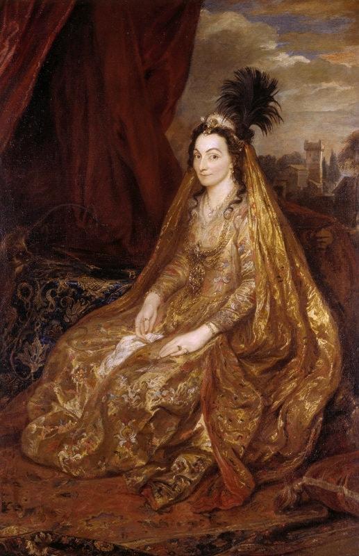 Леди Тереза Ширли - черкесская кума английской королевы Анны
