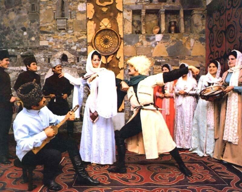 Особенности кавказского танца
