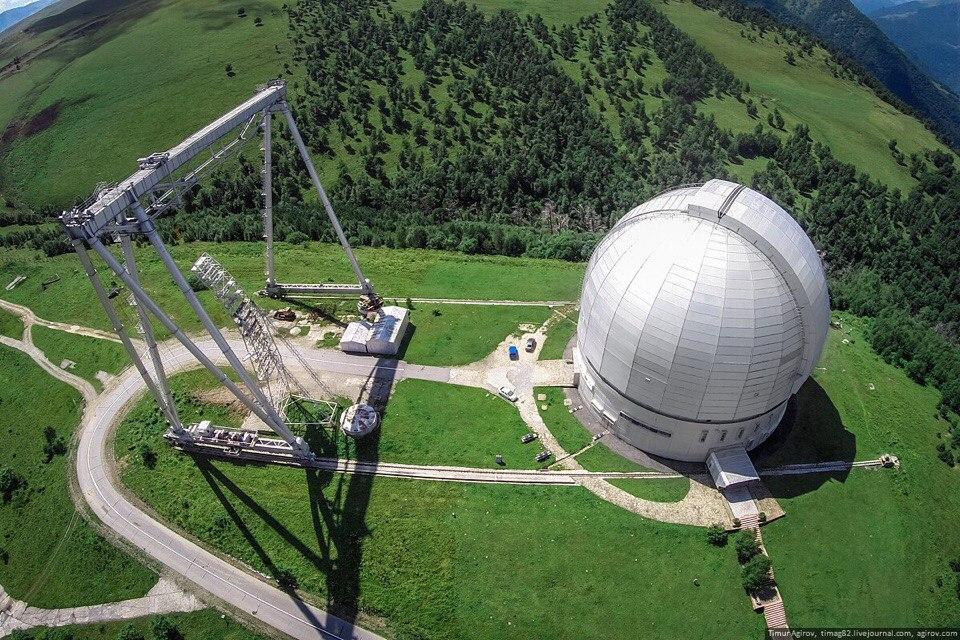 Карачаево-Черкесия.Самый большой телескоп в Евразии