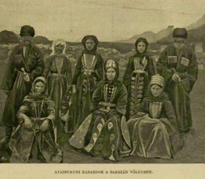Кабардинцы, Баксан, 1895 год