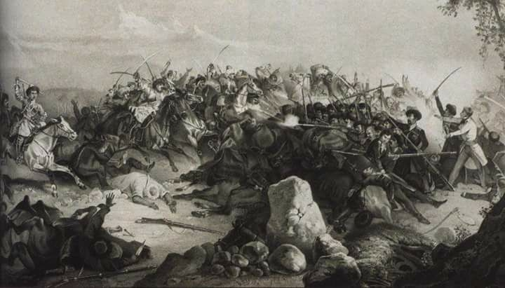 Что происходило на Кавказе в период столетней войны?