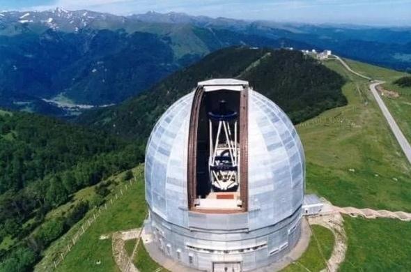 «Ростех» поставил оптику на самый большой в Евразии телескоп