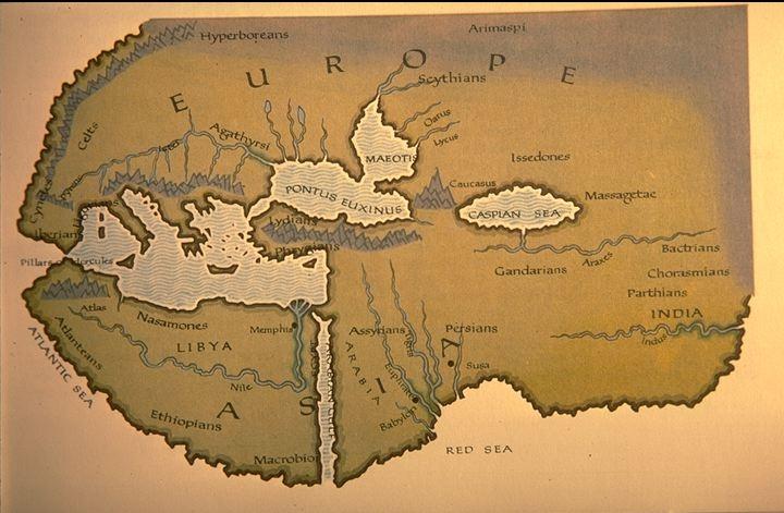 Геродот первый кто исследовал морские пути Каспийского моря