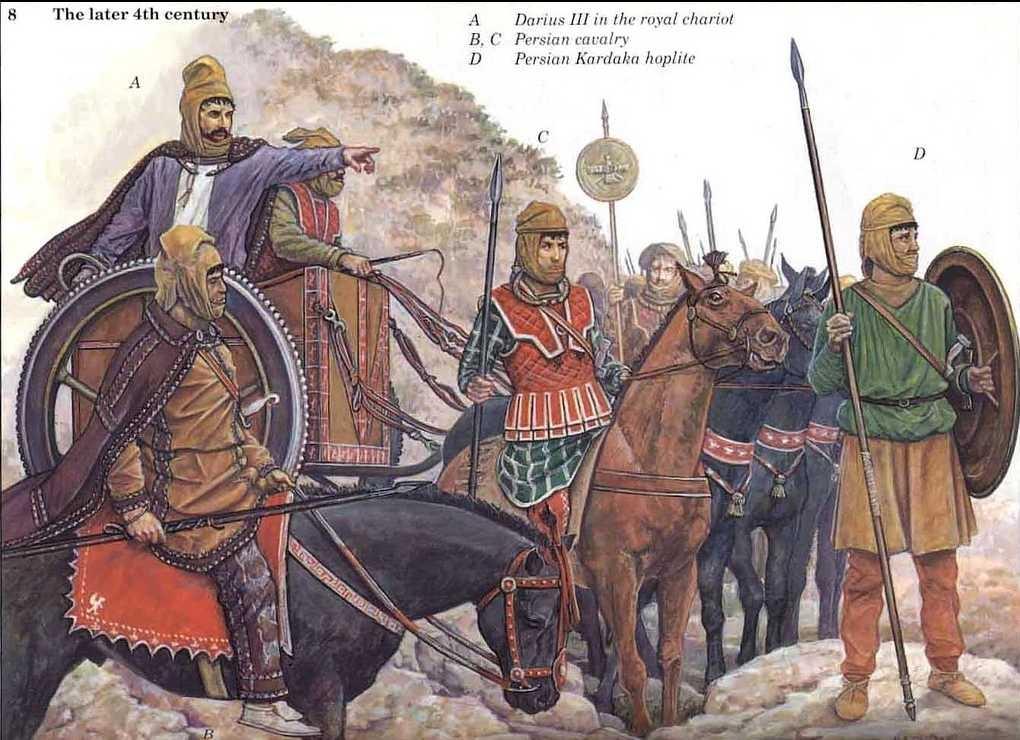 Кавказ входил в Ахеменидскую империю