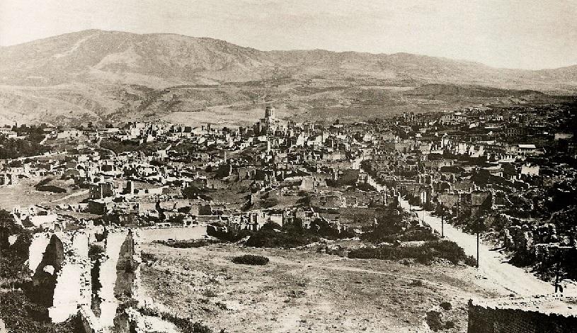 Как поделели территорию Армении?