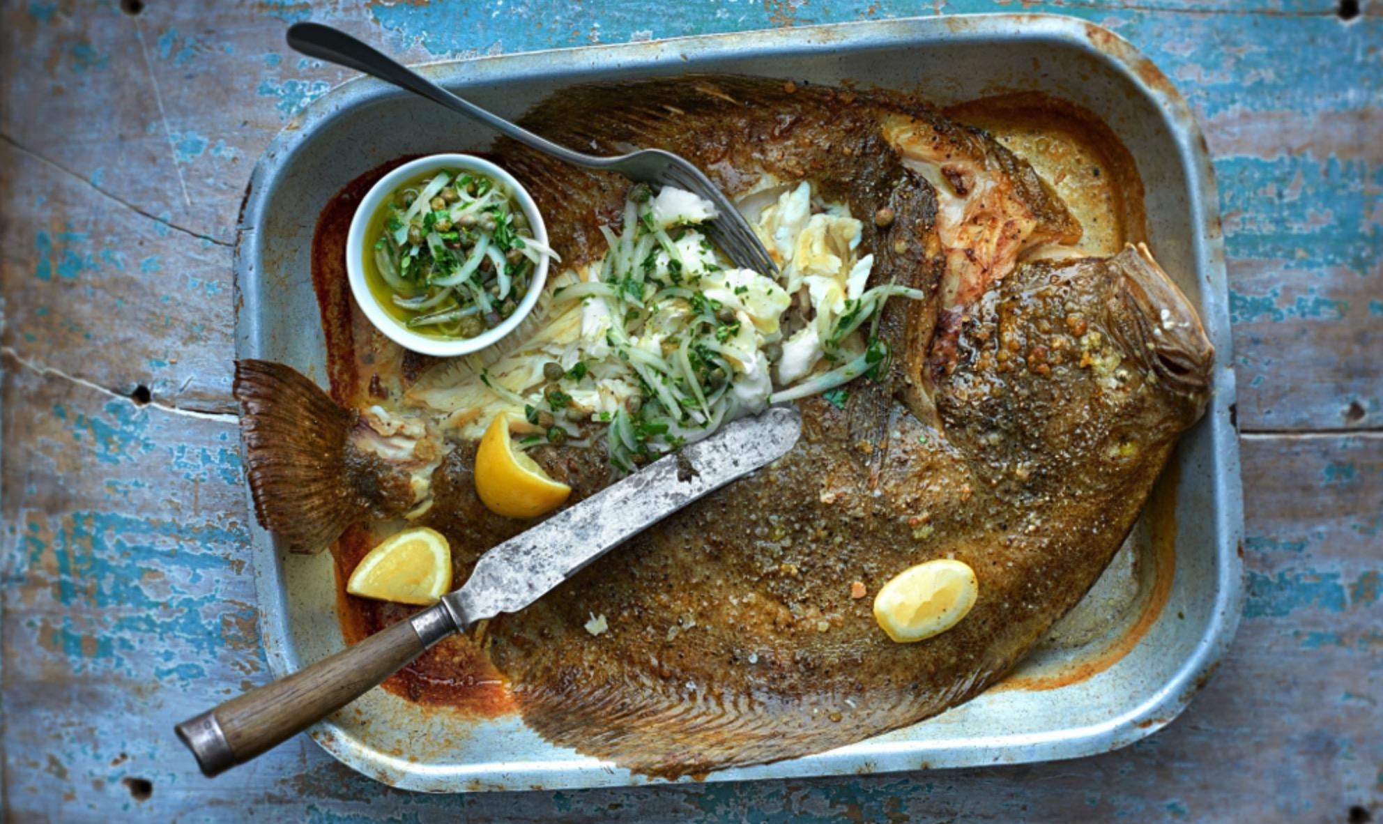 Самый вкусный обитатель Черного моря. Как в Крыму готовят Камбалу