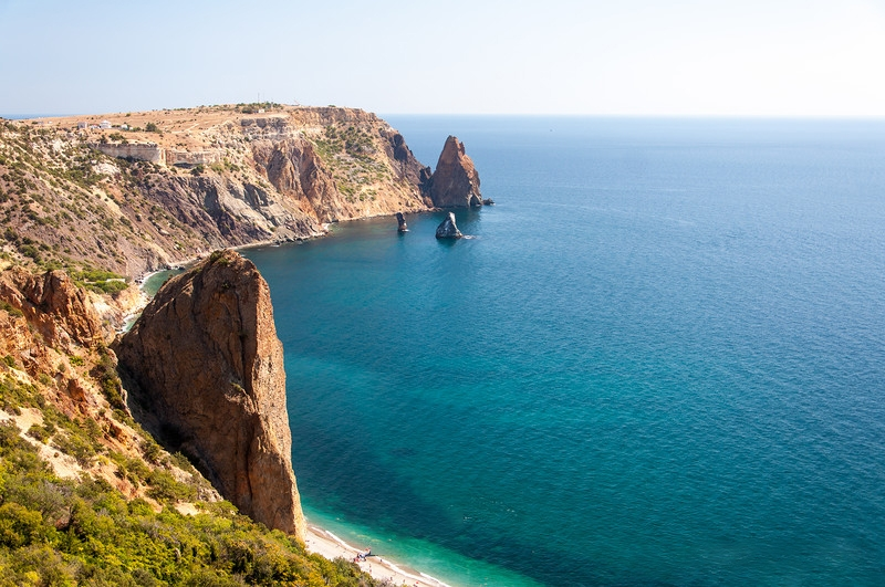 Откуда же появилось Чёрное море?