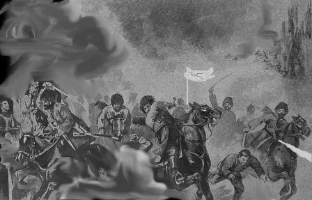 Глава о взятии Гуваля Чеченскими войсками Джавад-хана Белгатоевского