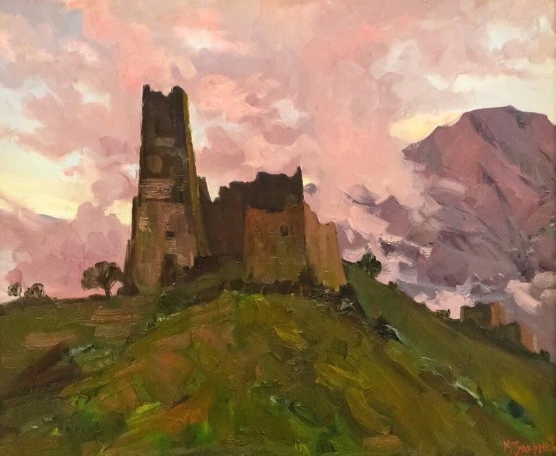Картины вайнахских художников из галереи А.А.Кадырова в Грозном