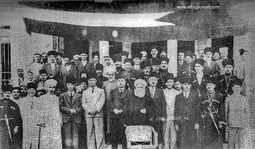 Черкесы и Арабы, Иордания, 1930-е годы.