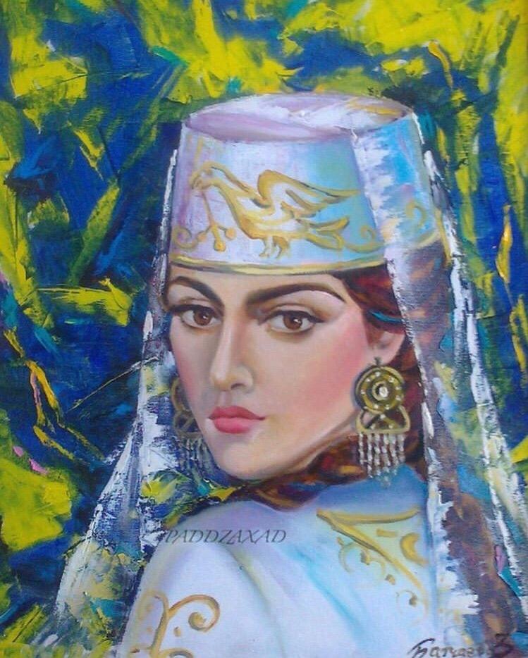 Картины карачаевской художницы Зульфии Батчаевой