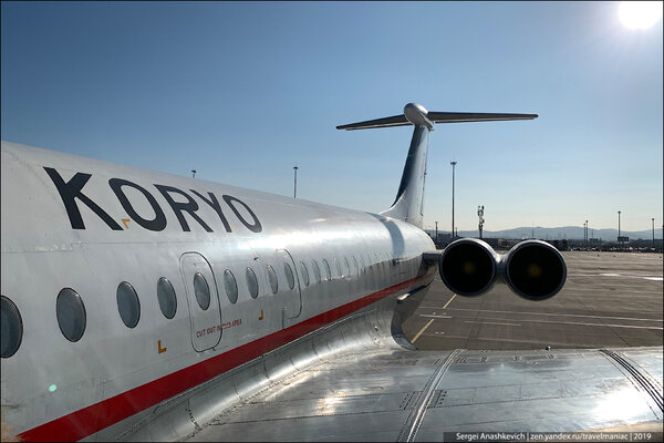 40-летние самолеты из прошлого: на чем летает единственная авиакомпания в КНДР