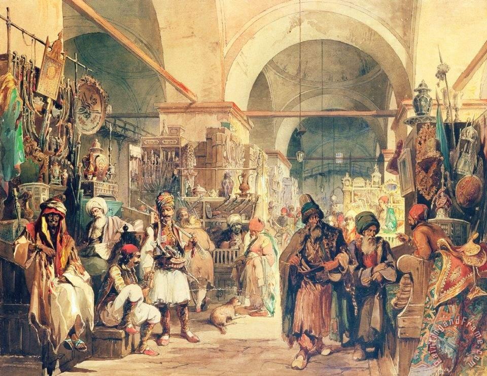 Что носили на голове крымские женщины в 18 веке?