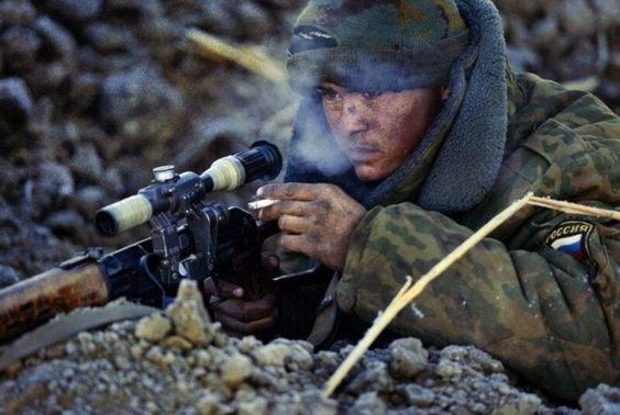Снайперский счёт врага сечёт