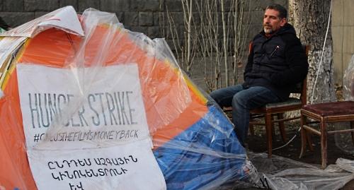 Здоровье Ованнеса Галстяна ухудшилось после двух недель голодовки
