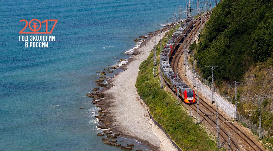 Год экологии в СКЖД: как железнодорожники помогают сохранить экологию на юге