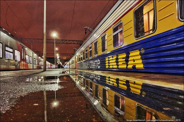 Как выглядели бы поезда РЖД, если бы их оснащала IKEA: мечта или пустая затея?