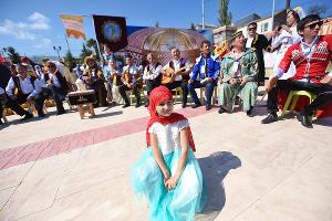 Фестиваль этноподворий на праздновании 2000-летия Дербента