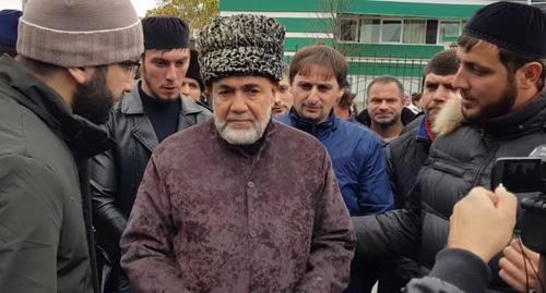 Ахмед Барахоев прекратил голодовку