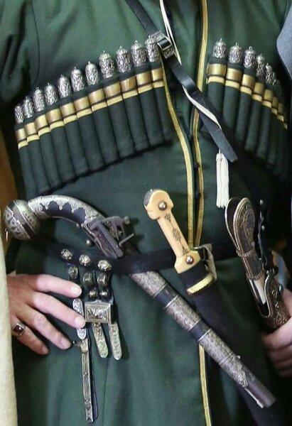 Оружие у черкесов считалось священным