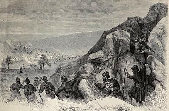 Ермолов на войне на Кавказе