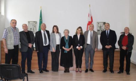 Черкесский Культурный Центр посетила официальная делегация из Парламента Иордании- (Видео)