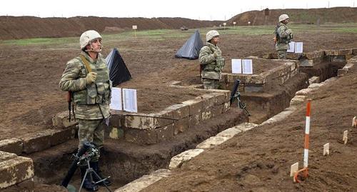 Азербайджан сообщил об обстрелах двух сел