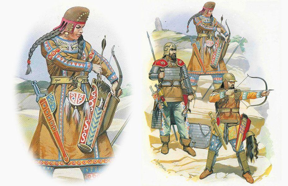 Чем зарабатывали древние племена скифы и меоты?