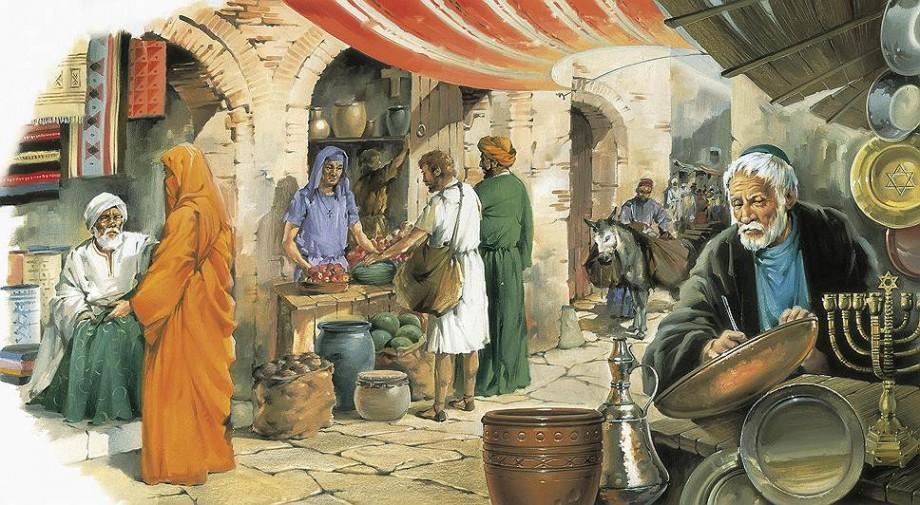 Меновая торговля в древней стране Меотов и Синдов