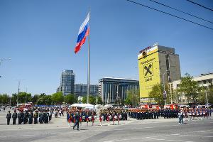 Как отметили 370-летие пожарной охраны России в Краснодаре