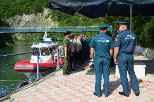 Профилактический рейд МЧС на пляже села Архипо-Осиповка