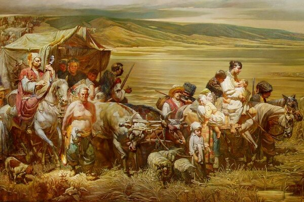 Переселение казаков на Кубань | Адыги.RU | Яндекс Дзен