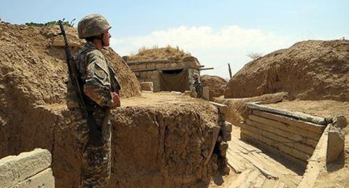 Нагорный Карабах насчитал 90 обстрелов в зоне конфликта за неделю