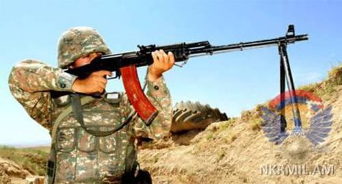 Азербайджан насчитал 20 обстрелов в зоне конфликта