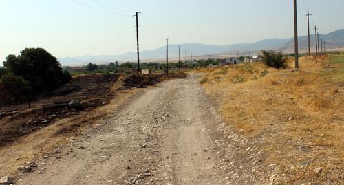 Переселенцы из Армении рассказали о необустроенности села в Нагорном Карабахе