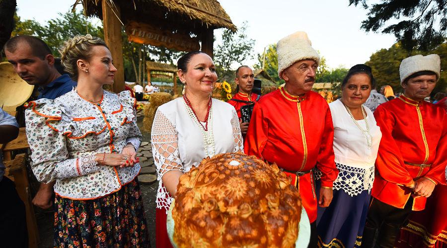 Как Тбилисский район отпраздновал 85-летие