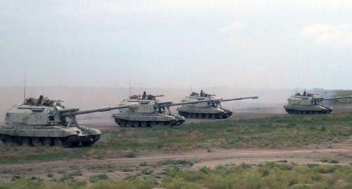 Масштабные военные учения начались в Азербайджане