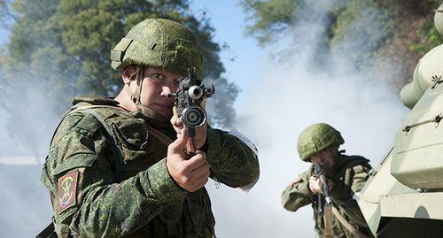 Разведчики провели антитеррористические учения в горах Абхазии