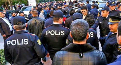 Азербайджанский оппозиционер арестован после пикета