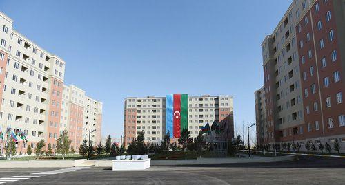Переселенцы на акции в Баку потребовали предоставить им жилье