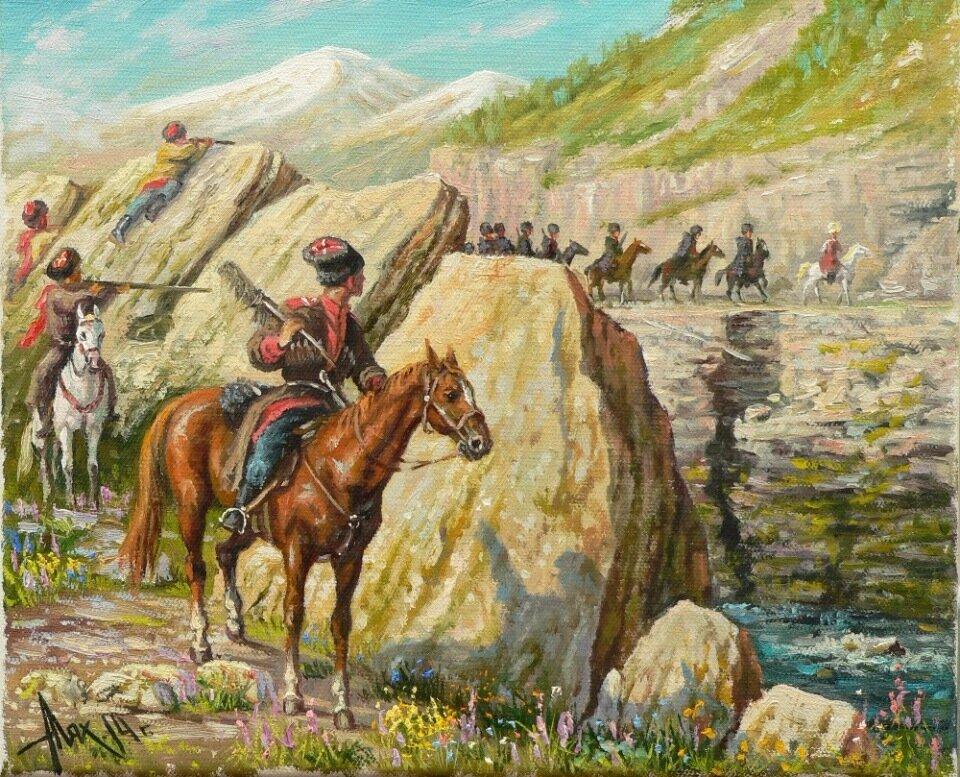 Причины поражение черкеской конницы в войне с царской армией