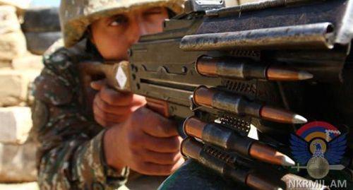 Нагорный Карабах заявил о 140 обстрелах в зоне конфликта