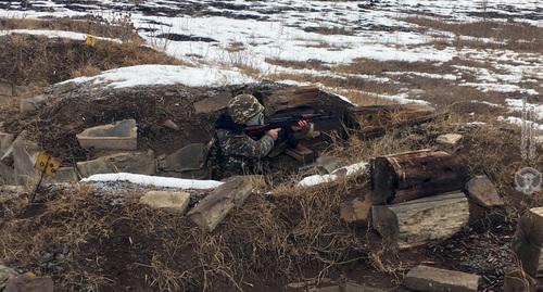 Азербайджан заявил о снайперских обстрелах в зоне конфликта